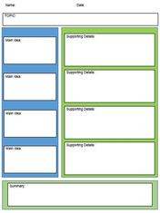 notes template for word